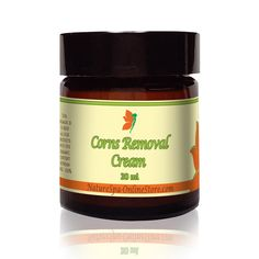 Organic Corns Removal Cream Super concentrated in Essential Oils for antibacterial and anti fungal properties. Softens thick skin, calluses