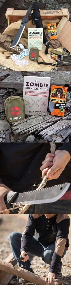 Help him be prepared for the coming zombie apocalypse! Love this gift… #mancrates