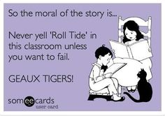 So need this in my classroom for all those Bama fans I teach!!!!