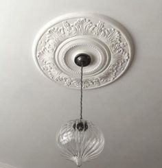 victorian plaster ceiling rose acanthus victorian plaster ceiling rose 5 - The world's most private search engine Modern Victorian Decor, Victorian Lighting, Victorian Interiors, Victorian Cottage, Victorian Design, Victorian Homes, Victorian Bedroom, Victorian Architecture, Hallway Ceiling