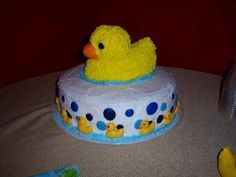 Rubber Ducky Baby Cake
