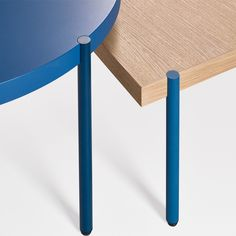 Table wood blue