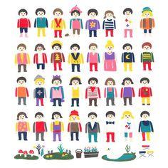 #Playmobil #illustration #drawing #OkayTina