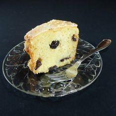 Lemon and Sour Cherry Tea Cake
