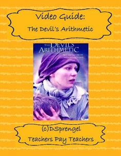 This is a video guide that corresponds to the movie - The Devil's Arithmetic. Since it is rated PG-13, it is a good alternative to Schindler's List. Format of the video guide includes multiple choice, word bank, and student reflection. Video guide included!You may also like:Modern Genocide ChartHotel Rwanda (2004) Video Movie Guide (Rwandan Genocide)Global Issues for Students: Genocide Video/Movie Guide (2004) with keyFollow my store for updates, sales, and new downloads by clicking follow…