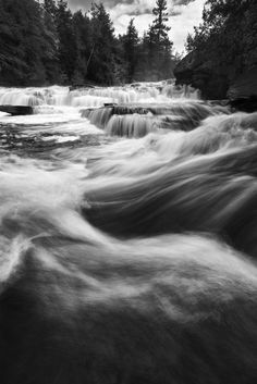 Waterfall Wednesday: Manido Falls in the Porcupine Mountains