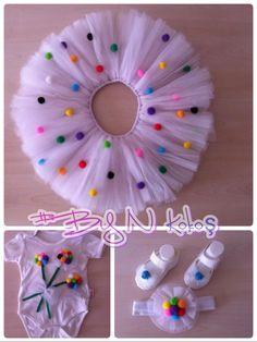 Trendy crochet baby skirt no sew Diy Tutu, Crochet For Kids, Sewing For Kids, Baby Sewing, Crochet Baby, Free Crochet, Dresses Kids Girl, Tutus For Girls, Kids Outfits