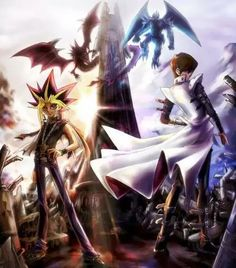 Yami Yugi (particularly from Season 0 and the early manga) is my favorite character. Yu Gi Oh, Blade Runner, Anime Shows, Digimon, Anime Love, Game Art, Anime Characters, Pokemon, Nerd