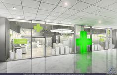 Simulación de Proyectos de Arquitectura Comercial en 3D. APOTHEKA