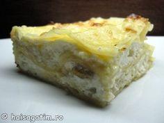 Lasagna cu branza dulce Pizza Lasagna, Types Of Desserts, Dessert Recipes, Pie, Pasta, Google Translate, Heavenly, Food, Torte