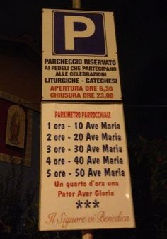 Santo parcheggio