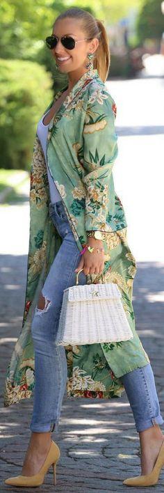 Kimono love // Summer Outfit Idea by Mesi Szigeti