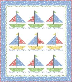 Editorial Feature Overload Cover Quilt and More in Fons and Porter's Easy Quilts (Summer – Ivory Spring Bee Rocks, Fish Quilt, Cute Fish, Baby Quilt Patterns, Windham Fabrics, Easy Quilts, Quilt Making, Happy Friday, Quilt Blocks
