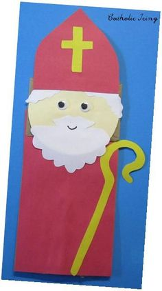 Cute craft idea for St. Nick's Day.