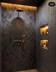 Bad Inspiration, Bathroom Inspiration, Room Tiles Design, Green Bathrooms Designs, Shower Cabin, Farmhouse Remodel, Bathroom Design Luxury, Modern Shower, Bathroom Light Fixtures
