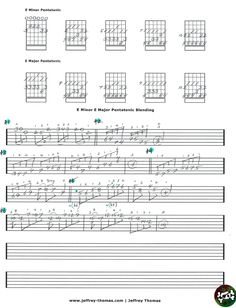 "On The Workbench: ""E Minor E Major Pentatonic Blending"". This is a lesson I have started on the subject of blending minor & major pentatonic pattern to get outside the box when soloing.  Skype Guitar Bass & Ukulele Lessons:  www.jeffrey-thomas.com"