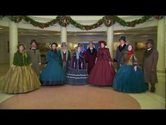 The Voices of Liberty Perform Holiday Songs at Epcot at Walt Disney World Resort