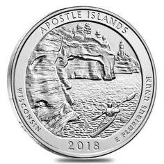 2018 P VOYAGEURS MINNESOTA  NATIONAL PARK  QUARTER $10 BU ROLL LIVE