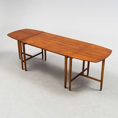 A century three piece sofa table by Fritz Hansen. Dining Bench, Sofa, Table, Furniture, Home Decor, Dining Room Bench, Settee, Decoration Home, Couch