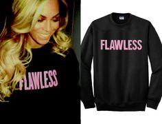 Flawless Beyoncé  Beonce Sweatshirt I woke up like this dis Shirts TShirt T Shirt Tee Shirts  Women – size S M L XL XXL color Black Sleeve