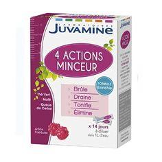 Comparez les prix de Juvamine Cocktail Minceur 4 Actions 14 Sticks à partir de 4,76€ sur unooc.fr #comparateur #santé #minceur