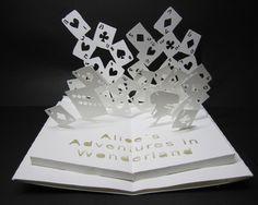 Pop up card Arte Pop Up, Pop Up Art, Kirigami, Up Book, Book Art, Paper Diamond, Paper Architecture, Paper Pop, Paper Magic