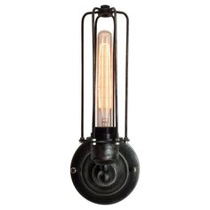 Found it at Wayfair - 1 Light Wire Cage Wall Sconce