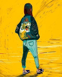 Send me a postcard, darling #illustration #illo #kero #sapporo