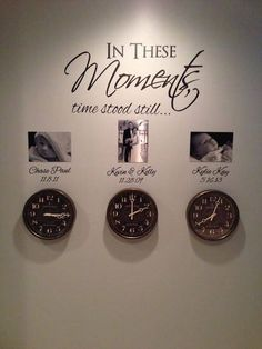In these moments, time stood still. - Ahu Buçener - - In these moments, time stood still. Time Stood Still, Diy Décoration, Easy Diy, Simple Diy, Apartment Decoration, Bedroom Decor, Wall Decor, Modern Bedroom, Family Wall