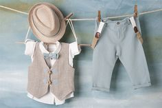 Christening Outfit, Little Man, Baby Wearing, Cute Babies, Mom Jeans, Kids Outfits, Kids Fashion, Khaki Pants, Baby Boy