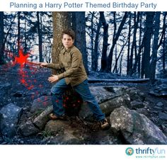 This is a guide about planning a Harry Potter themed birthday party. A perfect party theme for children who love reading J.K. Rowling's famous Harry Potter series.