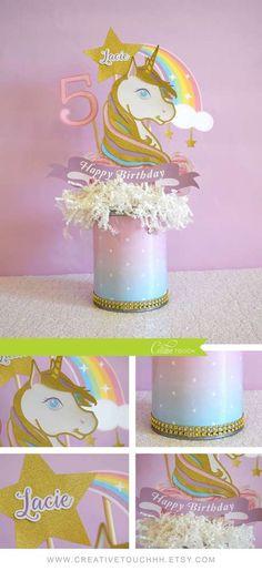 Unicorn Birthday Party | CatchMyParty.com