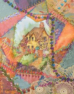 Judith Baker Montano –– The classic guide to crazy quilting, now with new projects, stitches, and techniques For nearly 30 years, The Crazy Quilt Handbook has been the essential guide to the fine art
