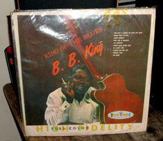 B.B. King~King of the Blues~Crown Records CLP 5167 HI-FI~Vinyl LP Record Album #ClassicRB