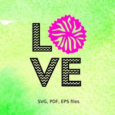 Hey, I found this really awesome Etsy listing at https://www.etsy.com/listing/269317965/chevron-cheer-love-svg-pdf-eps-files-for