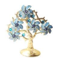 ÁRVORE DA RIQUEZA Decorative Bells, Rings, Floral, Flowers, Jewelry, Home Decor, Wealth, Eye, Jewlery