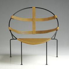 Brazilian designer Flavio De Carvalho's FDC1 armchair.
