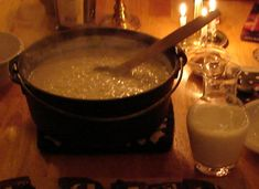 Swedish Rice Porridge (Risgrynsgrot) - I have a Swedish friend who made this for us once, it was fantastic!  Going to try it for a GF breakfast sometime...