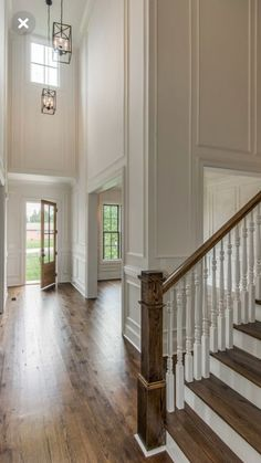 Applied molding layout for high ceilings – Decorating Foyer Style At Home, Foyer Staircase, Staircases, Double Staircase, Entry Stairs, High Walls, High Ceilings, High Ceiling Living Room, Wall Molding