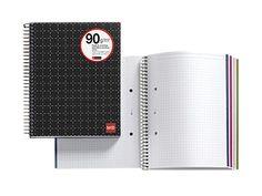 Notebook 4 Polipropileno Telegraph Negro diseñado por MIQUELRIUS.