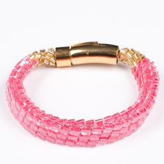 The Candied Collection by Luminita. American Made. See the designer's work at the 2015 American Made Show, Washington DC. January 16-19, 2015. americanmadeshow.com #jewelry, #americanmade, #pink