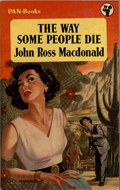 """The """"other"""" Macdonald writer of pulp fiction, who is also good Pulp Fiction Book, Crime Fiction, Literary Genre, Vintage Book Covers, Drama, Mystery Novels, Vintage Movies, Paperback Books, Videos"""