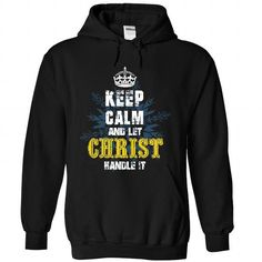 08032103 Keep Calm and Let CHRIST Handle It - #tshirt makeover #off the shoulder sweatshirt. WANT IT => https://www.sunfrog.com/Names/08032103-Keep-Calm-and-Let-CHRIST-Handle-It-4519-Black-31706467-Hoodie.html?68278