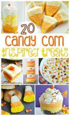 Candy Corn Treats & Recipes