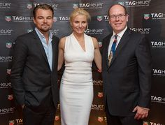 Leonardo DiCaprio, Cameron Diaz and Prince Albert II of Monaco attend the 2013 Monaco Grand Prix Party   #MonacoVIPhospitality