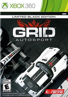 GRID Autosport  Xbox 360 Black Edition Edition >>> Click on the image for additional details. Note:It is Affiliate Link to Amazon.