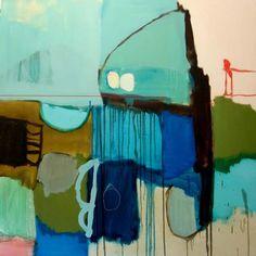 """Slalom"" by Artist Waldemar Kolbusz 100x100"