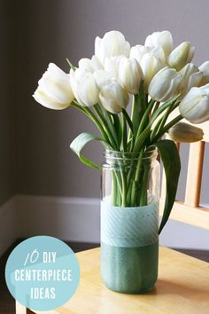 10 fabulous and affordable DIY centerpieces