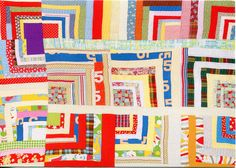 Housetop - Twelve Block Half-Log Cabin Variation, Rita Mae Pettway The Quilts of Gee's Bend Antique Quilts, Vintage Quilts, Gees Bend Quilts, African Quilts, Pineapple Quilt, Quilt Storage, Log Cabin Quilts, Doll Quilt, Cotton Quilts