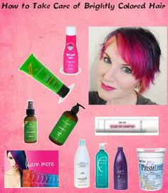 Best DIY Hair Masks And Face Masks : How to Take Care of Brightly Colored Hair. Pin now read later! #hair #beauty #c
